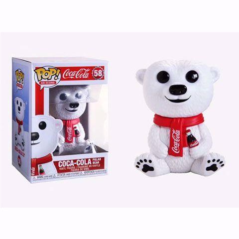 תמונה של Funko Pop - Coca Cola Bear (Coca cola) 58  בובת פופ קוקה קולה