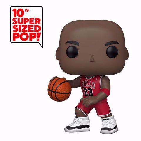 """תמונה של Funko Pop - Michael Jordan 10"""" (NBA) 75  בובת פופ מייקל ג'ורדן"""