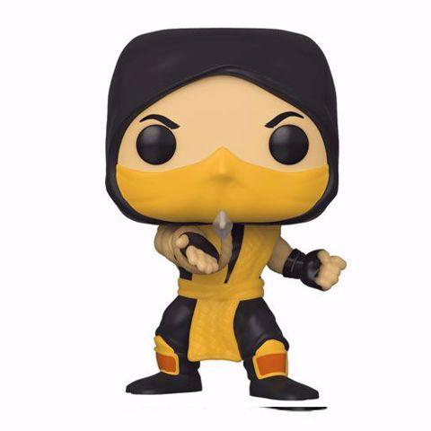 תמונה של Funko Pop - Scorpion (Mortal Kombat) 537  בובת פופ מורטל קומבט