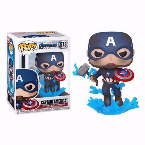 תמונה של Funko Pop - Captain America (Avengers) 573  בובת פופ קפטן אמריקה