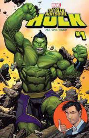 תמונה של The Totaly Awsome Hulk Comics אוגדן קומיקס הענק הירוק