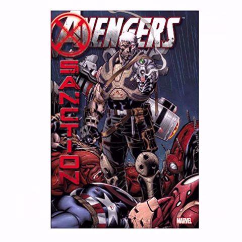 תמונה של Avengers : X - Sanction Comics  ספר קומיקס הנוקמים