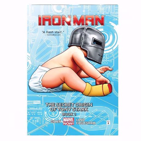 תמונה של Iron Man : The Secret Origin Of Tony Stark Comics  ספר קומיקס  איירון מן