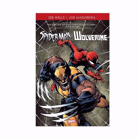 תמונה של Spiderman & Wolverine Comics  ספר קומיקס