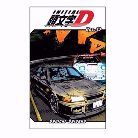 תמונה של Initial D : Vol #11 Manga  מאנגה