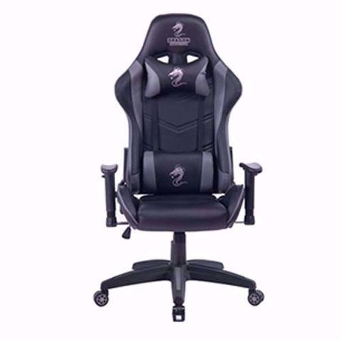 תמונה של כסא גיימינג מדגם Dragon Olympus שחור/אפור