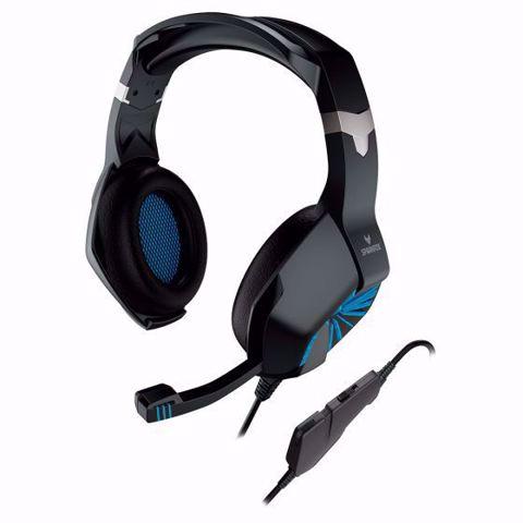 תמונה של אוזניות גיימינג Sparkfox A1 בצבע כחול