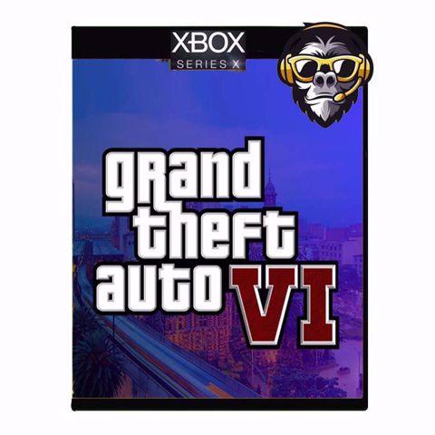 GTA VI SIX Xbox Series X ג'י טי איי 6 לאקסבוקס סדרה איקס