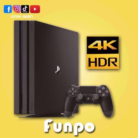 סוני פלייסטיישן 4 פרו  PS4  Pro 4K  1Tb