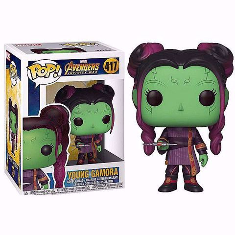בובת פופ | גאמורה | Funko Pop - Young Gamora (Avengers) 417