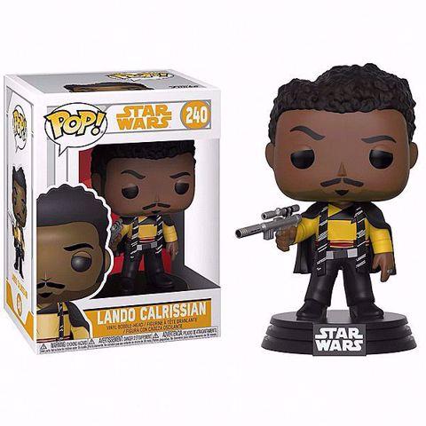 Funko Pop -  Lando Calrissian (Star Wars)  240 בובת פופ מלחמת הכוכבים