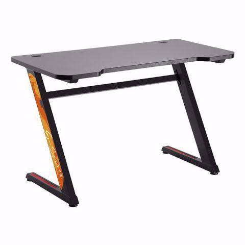 שולחן גיימינג מקצועי LUMI GMD02-1 שחור