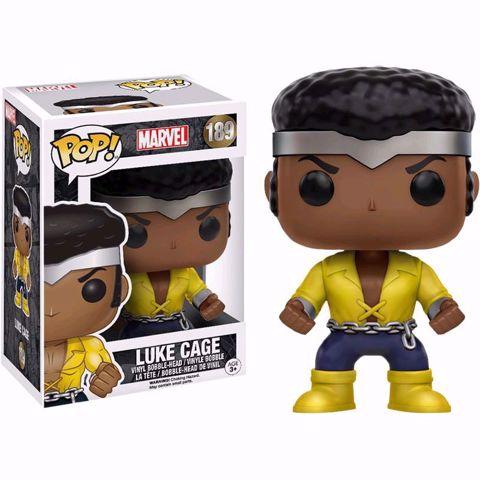 Funko Pop -  Luke Cage (Marvel) 189  בובת פופ  לוק קייג'