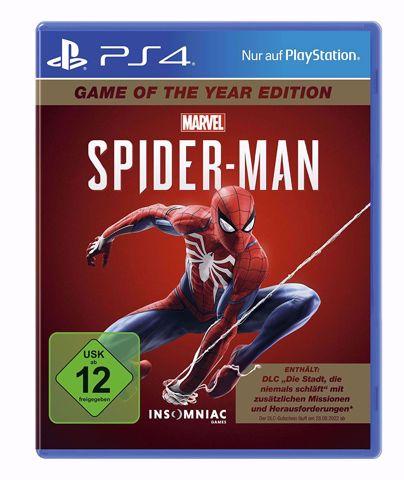 Marvel's Spider-Man GOTY Ps4 ספיידרמן