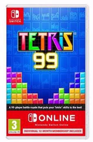 Tetris 99 + 12 Months Online
