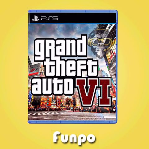 Grand Theft Auto VI GTA 6 PS5 ג'י טי איי 6 לסוני 5