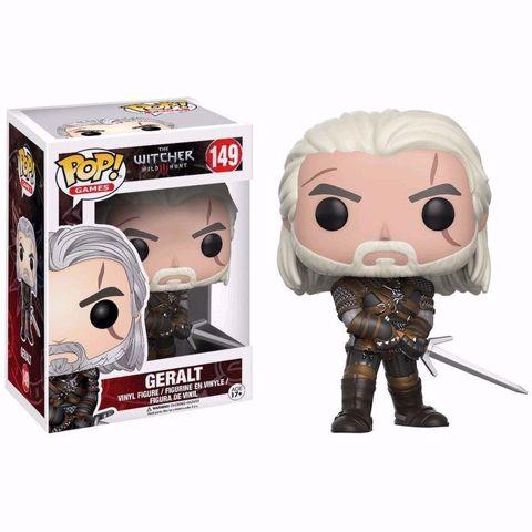 Funko Pop - Geralt (The Witcher) 149  בובת פופ המכשף