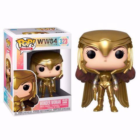 Funko Pop -  Wonder Woman  (WW84 ) 323  בובת פופ וונדר וומן