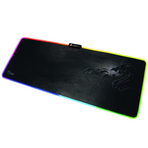 משטח גיימינג לעכבר Dragon Gaming LED Mouse Pad XL