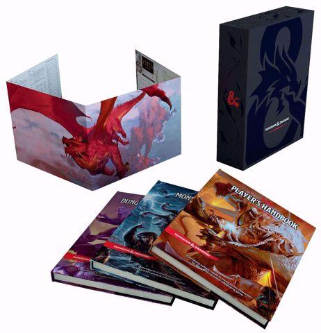 סט ספרים למבוכים ודרקונים Dungeons & Dragons Core Rulebooks Set