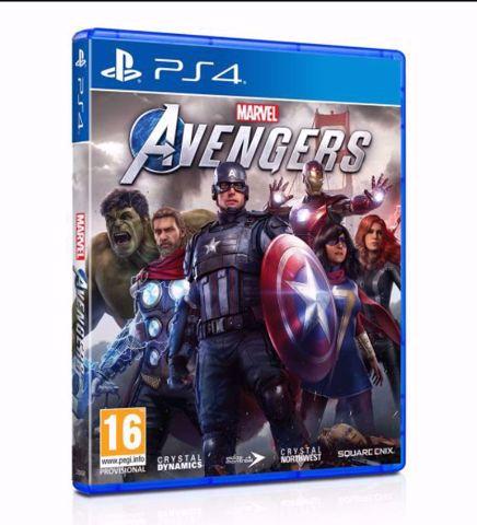 Marvel's Avengers Ps4 הזמנה מוקדמת