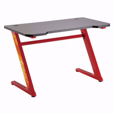 שולחן גיימינג מקצועי LUMI GMD02-1 אדום