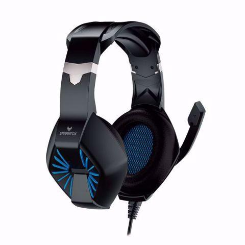אוזניות גיימינג SPARKFOX A1 כחול