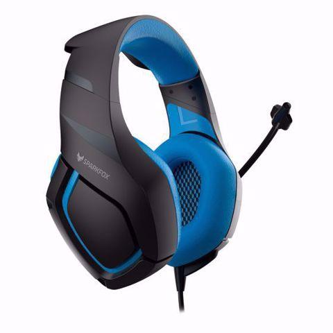 אוזניות גיימינג SPARKFOX K1 כחול