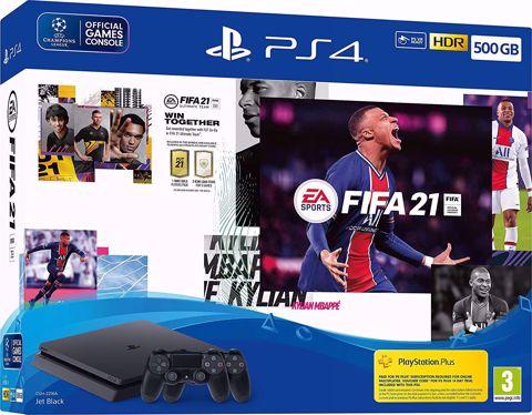 סוני פלייסטיישן  PS4 Playstation 4 Slim 500Gb חבילת פיפאן