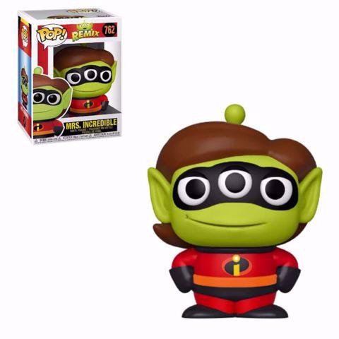 Funko Pop - Mrs Incredible (Alien Remix) 762 בובת פופ  אליין רמיקס גברת סופרעל