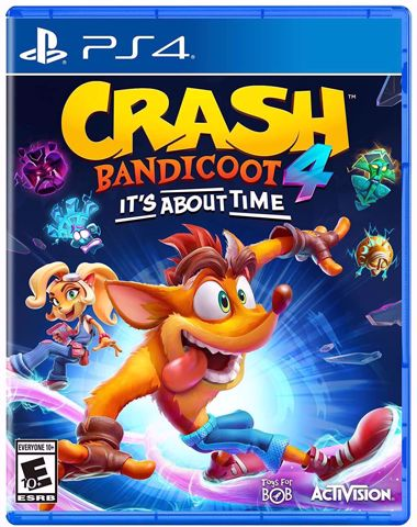 Crash Bandicoot 4: It's About Time PS4 קראש בנדיקוט לסוני 4