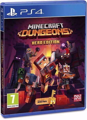 Minecraft Dungeons Hero Edition PS4 מיינקראפס מבוכים לסוני 4