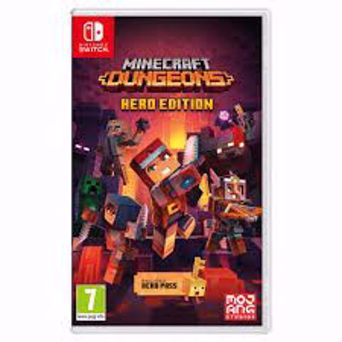 Minecraft Dungeons Hero Edition Nintendo Switch מיינקראפס מבוכים לנינטנדו סוויץ