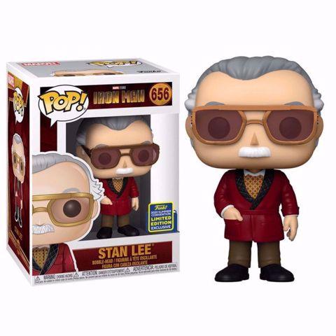 Funko Pop -  Stan Lee SDCC  (Iron Man) 656  בובת פופ סטן לי