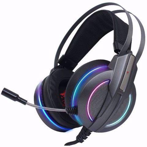 Dragon Metalic Galaxy RGB Headset  אוזניות גיימינג כולל תאורה