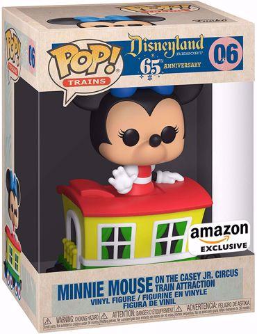 Funko Pop - Minnie Mouse In Car Amazon Exlusive (Disney) 06  בובת פופ מיני אוס