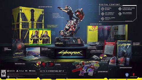 Cyberpunk 2077 Collector's Edition Xbox one סייברפאנק לאקסבוקס וואן הזמנה מוקדמת