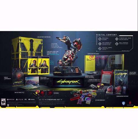 Cyberpunk 2077 Collector's Edition PC סייברפאנק למחשב הזמנה מוקדמת