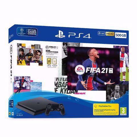 סוני פלייסטיישן  PS4 Playstation 4 Slim 500Gb באנדל פיפא