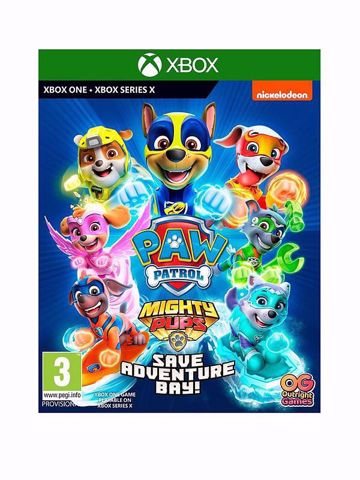 PAW Patrol Mighty Pups Save Adventure Bay Xbox One