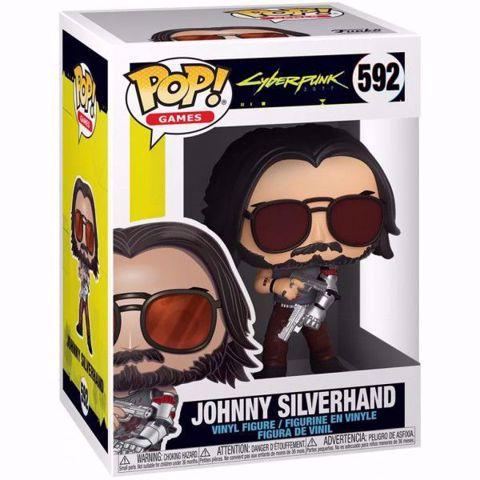 Funko Pop - Johnny Silverhand (Cyberpunk 2077) 592 בובת פופ סייברפאנק 2077
