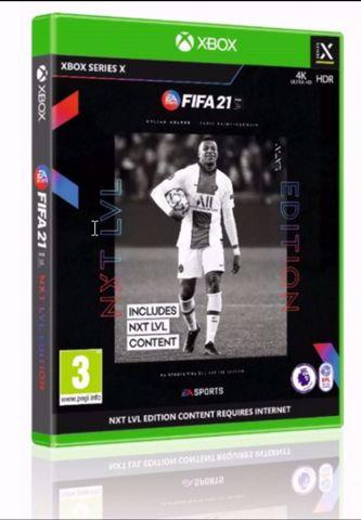 Fifa 21 Xbox Series X פיפא 21 אקסבוקס סדרה איקס הזמנה מוקדמת