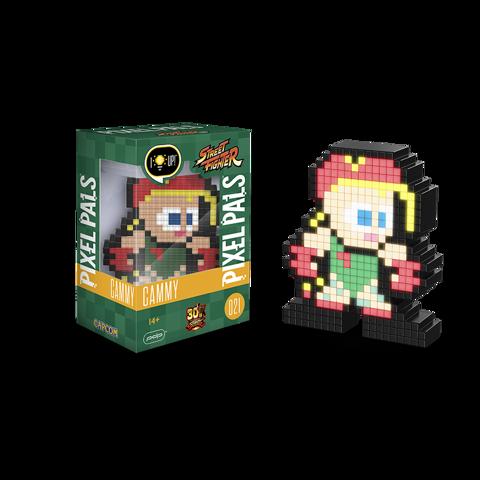Pixel Pals - Cammy (Street Figher) 021 מנורת פיקסל סטריט פייטר