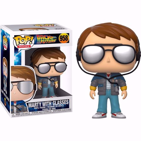 Funko Pop - Mary With Glasses (Back To The Future) 958  בובת פופ בחזרה לעתיד