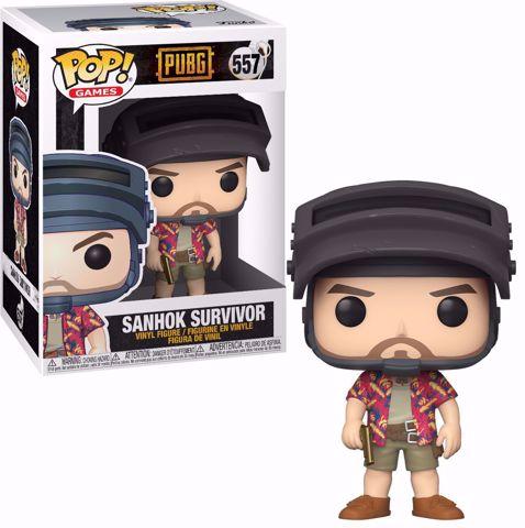 Funko Pop - Shanok Survivor (PUBG) 557  בובת פופ פאבג'י