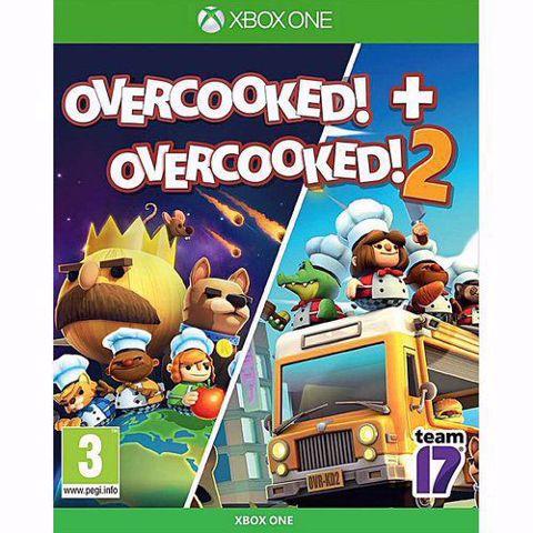 Overcooked + Overcooked! 2 Xbox one