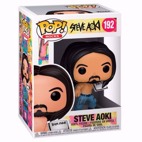 Funko Pop - Steve Aoki (Steve Aoki) 192 בובת פופ סטיב אוקי
