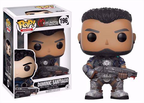 Funko Pop - Dominic Santiago (Gears Of War) 196 בובת פופ דומיניק סנטיאגו