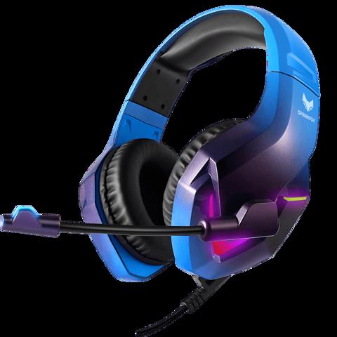 אוזניות ספארקפוקס H1 BLUE