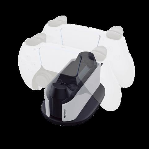 תושבת טעינה כפולה לשימוש עם 5®PLAYSTATION מבית SPARKFOX